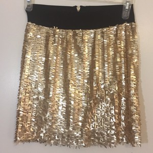 Romeo & Juliet Couture Skirt Black/gold