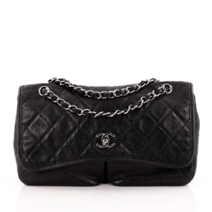 Chanel Pocket Flap Caviar Shoulder Bag