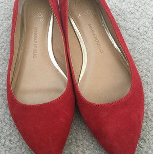 Banana Republic Red Flats