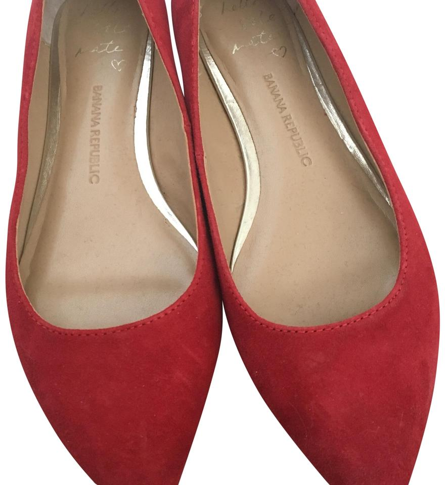 f067870d795b Banana Republic Red Angela Flats. Size  US 6 Regular (M ...