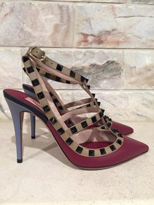 Valentino Rockstud Studded Stud Stiletto red Pumps