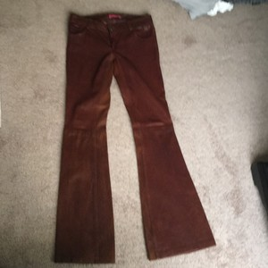 Alice + Olivia Boot Cut Pants Brown