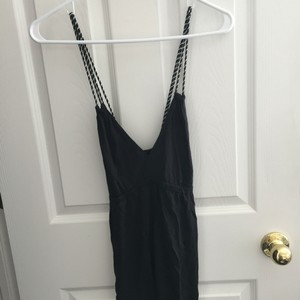 Express size large braided style tank top black and silver $20.00 Top