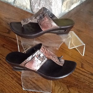 Donald J. Pliner Copper Sandals