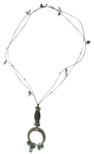 Silpada Silpada leather beaded necklace