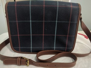 Burberry Leather Adjustable Strap Classic Cross Body Bag