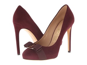 Salvatore Ferragamo Pump Trendy Heels Color Maroon Pumps