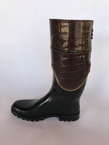 Dolce&Gabbana Black & Brown Boots
