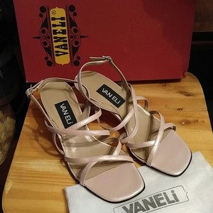 Vaneli Sandal Wedding Formal Pearlized Pink Sandals