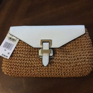 MICHAEL Michael Kors White/natural Clutch