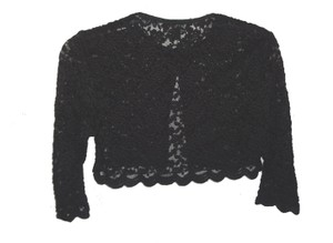 Connected Apparel Shrug Stretch Lace 3/4 Sleeve Cardigan