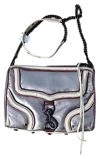Preload https://img-static.tradesy.com/item/2001513/rebecca-minkoff-metallic-pewter-wine-mac-bombe-purse-rare-silver-leather-shoulder-bag-0-1-540-540.jpg