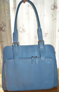 Levenger Tote in Blue