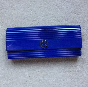Tory Burch Blue Clutch