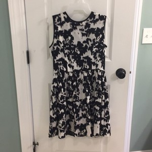 Saks Fifth Avenue short dress Black and white on Tradesy