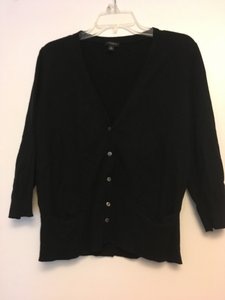 Ann Taylor Mother Of Pearl Buttons Pockets Cardigan
