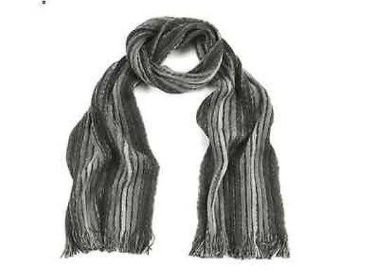 Missoni Bn Missoni Black Gray Grays Winter Wool Designer Scarf