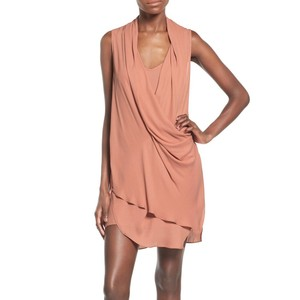 ASTR short dress Mauve Fall Fall Wedding Drape Blush on Tradesy