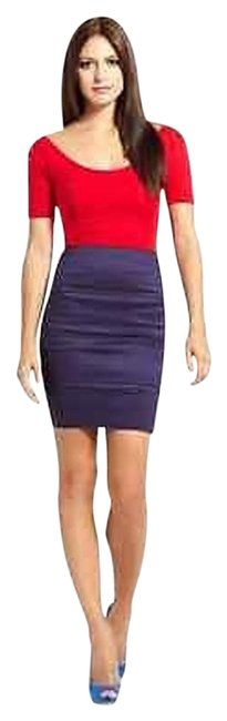 Preload https://item4.tradesy.com/images/pleasure-doing-business-stretch-knit-skirt-blues-2001583-0-1.jpg?width=400&height=650