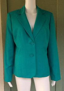 Kasper Jacket Suit Green Blazer