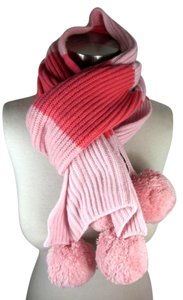 Burberry Pink, Long Cashmere Scarf 64