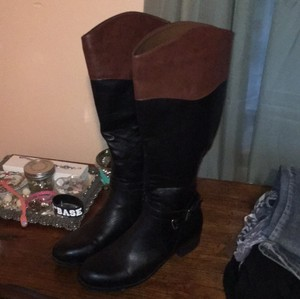 Rampage Black and brown Boots