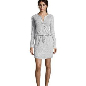 Vince short dress Grey on Tradesy