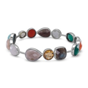 Other Multi Gemstone Bangle