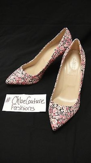 J.Crew Everly London Liberty Floral Heels pink Pumps Image 2