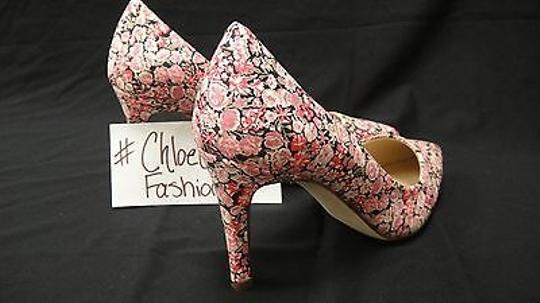 J.Crew Everly London Liberty Floral Heels pink Pumps Image 3