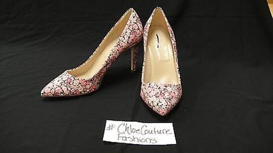 J.Crew Everly London Liberty Floral Heels pink Pumps Image 5