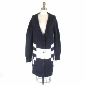 Band of Outsiders Oversized Mohair Cardigan Sweater