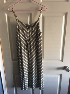 Green & white Maxi Dress by Tommy Bahama
