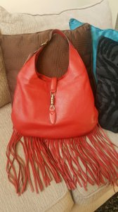 Gucci Brand New Soft Leather Hobo Bag