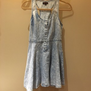Other short dress Denim wash on Tradesy