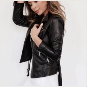 IRO Galaxy Leather Jacket Motorcycle Jacket