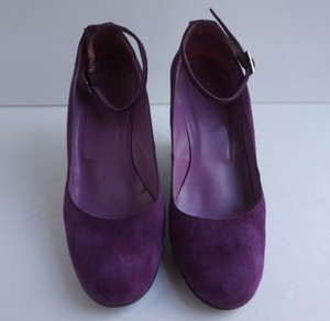 nopoudo Classic Black Pump Satin violet Pumps