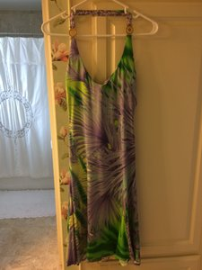 Versace short dress Purple Beachy Comfortable on Tradesy