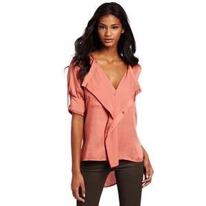 BCBGMAXAZRIA Top Warm Clay