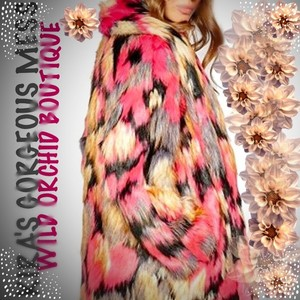 Wild Orchid Boutique Fur Coat