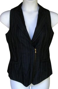 Ted Baker Career Tailored Zipper Classy Striped Vest