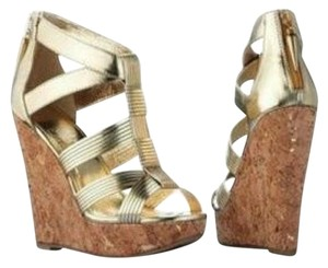 Rock & Republic Gold Wedges