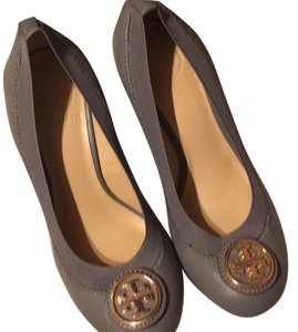 Tory Burch Gray Wedges