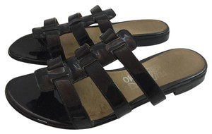 Salvatore Ferragamo Black Sandals