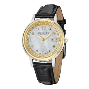 Stührling Stuhrling NEW Ladies Watch Designer Crystals date BOX