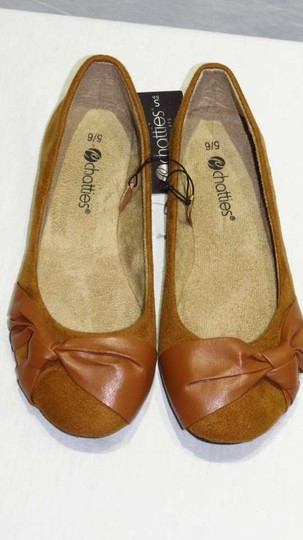 Chatties Light Brown Flats