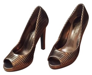 Jessica Simpson Gold/bronze Formal