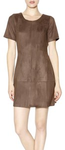 Paper Crane short dress Brown on Tradesy