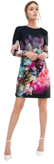 aa0d2fa91c7 Ted Baker Vyr Tunic In Focus Bouquet Print Dress chic - www ...