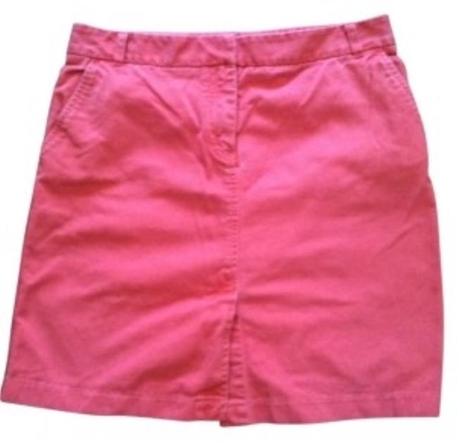 Preload https://item3.tradesy.com/images/jcrew-coral-knee-length-skirt-size-10-m-31-20017-0-0.jpg?width=400&height=650